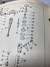 Harley 1948-84 Servicar Panhead Shovelhead Steering Damper Spring OEM# 46751-48