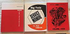 Harley Panhead 58-68 Parts Book Service Manual & Shop Dope IV Combo '58-'69