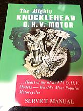 Harley EL FL UL Service Shop Manual 1940 to 1947 Knucklehead Flathead NEW