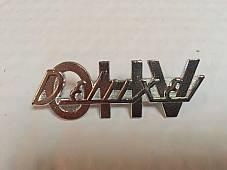 Harley Deluxe OHV Fender Emblem Knucklehead Panhead Shovelhead EVO 91583-52