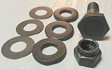 Harley 1948-51 Panhead Top Motor Mount Bolt Kit