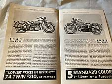 Harley Enthusiast Model Intro Issue 1933 Models Aug 1932 RL VL Servicar Delivery