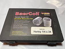 Harley 1/4-24 Heli-Coil Thread Insert Kit w/ 20 coils Knucklehead Panhead UL WL