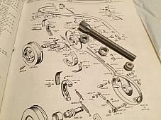 Harley 1950-72 Panhead FX XL Front Brake Cable Adjuster & Nuts OEM# 45159-50 USA