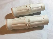 Harley JD VL DL White Handle Bar Grips 1909-34 OEM# 3310-09 Canvas Backed
