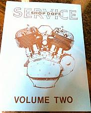 Harley Shop Dope Vol 2 Service Manual 1934-1940 VL RL DL EL Knucklehead UL