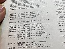 Harley B C Pea Shooter DL RL WL Cylinder Head Studs O.S. 1926-50 OEM# 14-26s USA