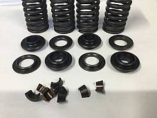 Harley UL Valve Springs Set W/ Collars & Keys OEM# 168-30B 1937-48 USA Made