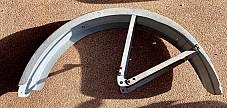 Harley B Single Pea Shooter Rear Fender 1929-1934 Replaces OEM 3710-29 European