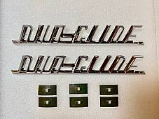 Harley 59195-58 Panhead FL FLH Duo-Glide Fender Emblems 1958-1964