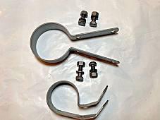 Harley RL WL WLA WLC Muffler Clamp Kit W/ CP-1035 Bolts 1942-48 1064-32A 1038-36