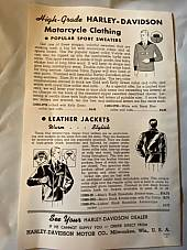 Harley Enthusiast Model Intro 1940 Models Knucklehead UL WL Sept 1939