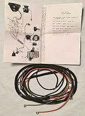 Harley 1926-28 Single Wiring Harness Pea Shooter W/ Horn Sw. A, B, C, AA BA USA