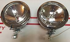 Harley 12V Guide Spot Lamp Panhead Shovelhead 12V 68652-64 1964-Up Spot Light
