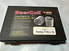 Harley 7/16-16 Heli-Coil Thread Insert Kit w/ 20 coils Knucklehead Flathead