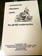 Harley Shop Dope Vol 1 JD Sport Twin & Single Service Manual 1917-1926