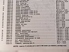Harley 29639-55 Magneto Vent Hole Cover & Screen Morris Hunt Sportster KR 55-69