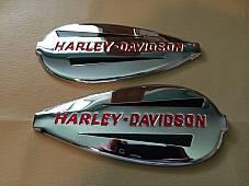 Harley Knucklehead Flathead UL WL 40 to 46 Gas Tank Emblem Adhesive Mount Kit