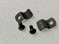 Harley 11307-41 Winter Windshield Apron Clip Kit Knucklehead Panhead WLA 1941-63