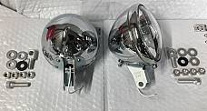 Harley 11366-38 Guide S-H2 Spot Lamps Knucklehead UL WL 1938-48 W/ Late Mounts