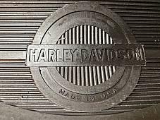 Harley Knucklehead Panhead Half Moon Canvas Back Footboard Mats 40-65 w/ Rivets
