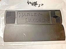 Harley 2940-14 JD Single VL Knucklehead Footboard Mats w/ Nickel Rivets1914-39