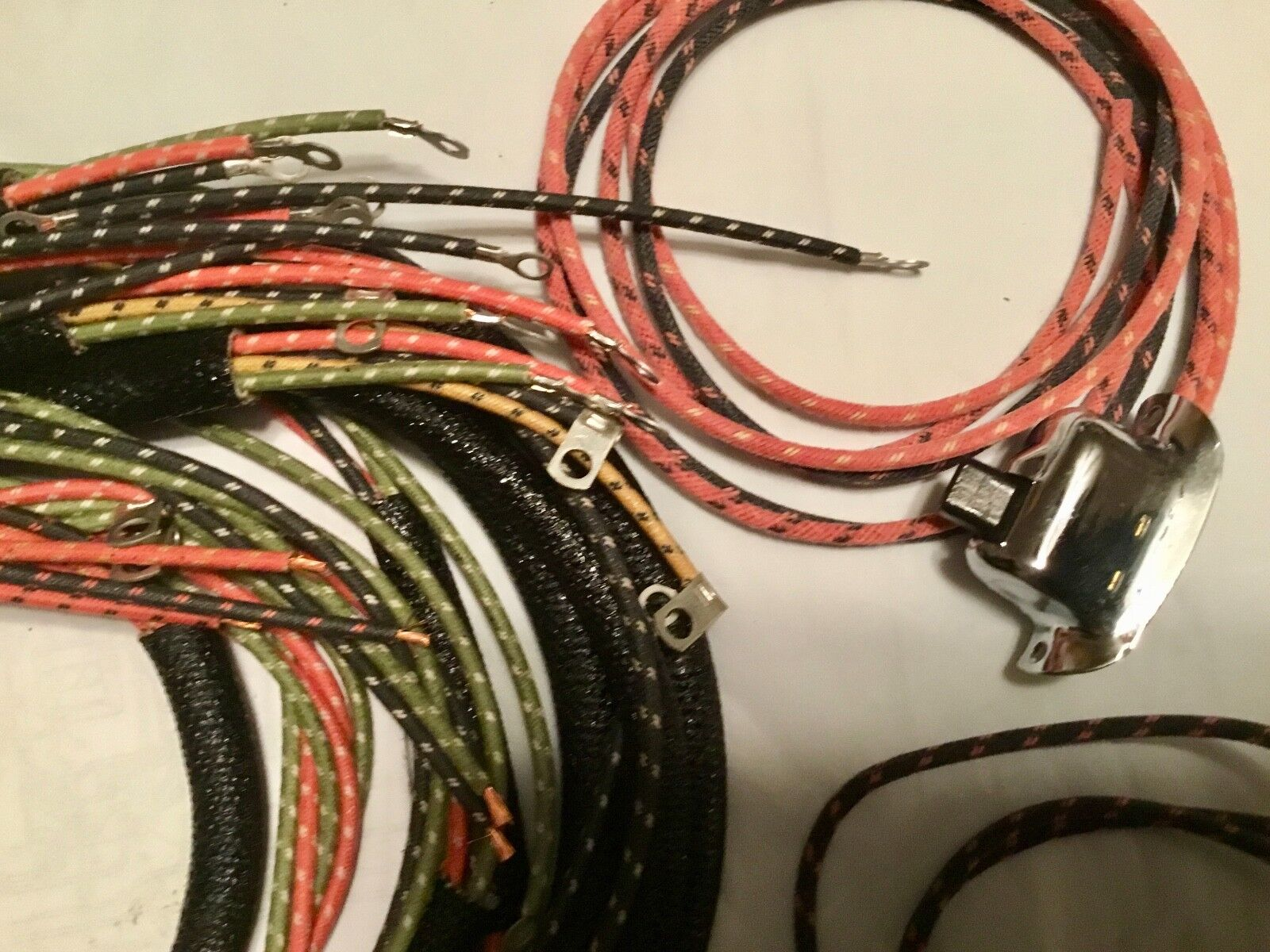 Harley 70321 48 Complete Panhead 1949 57 Wiring Harness W Wired Main 7032148 194957 Switches Usa