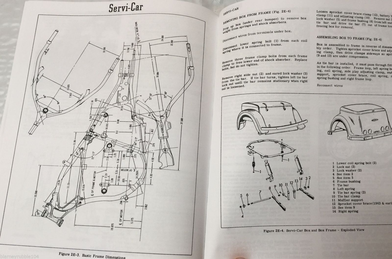 "Harley 45"" Solo & Servicar WL WLA Service Manual 1940-58 on"