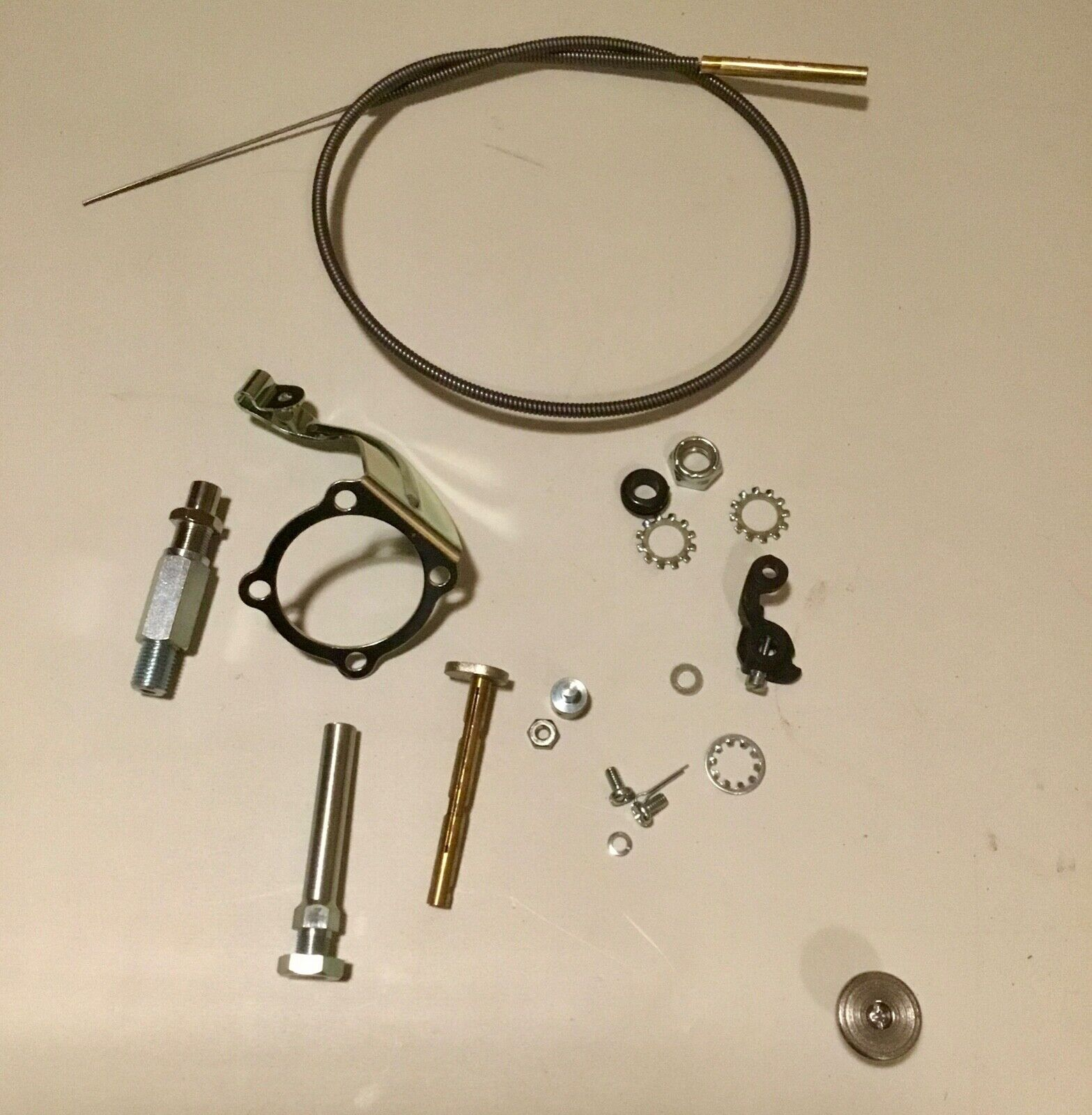 """Panhead Knucklehead Sportster Chrome Fuel Filter For 1//4/"""" Line"""