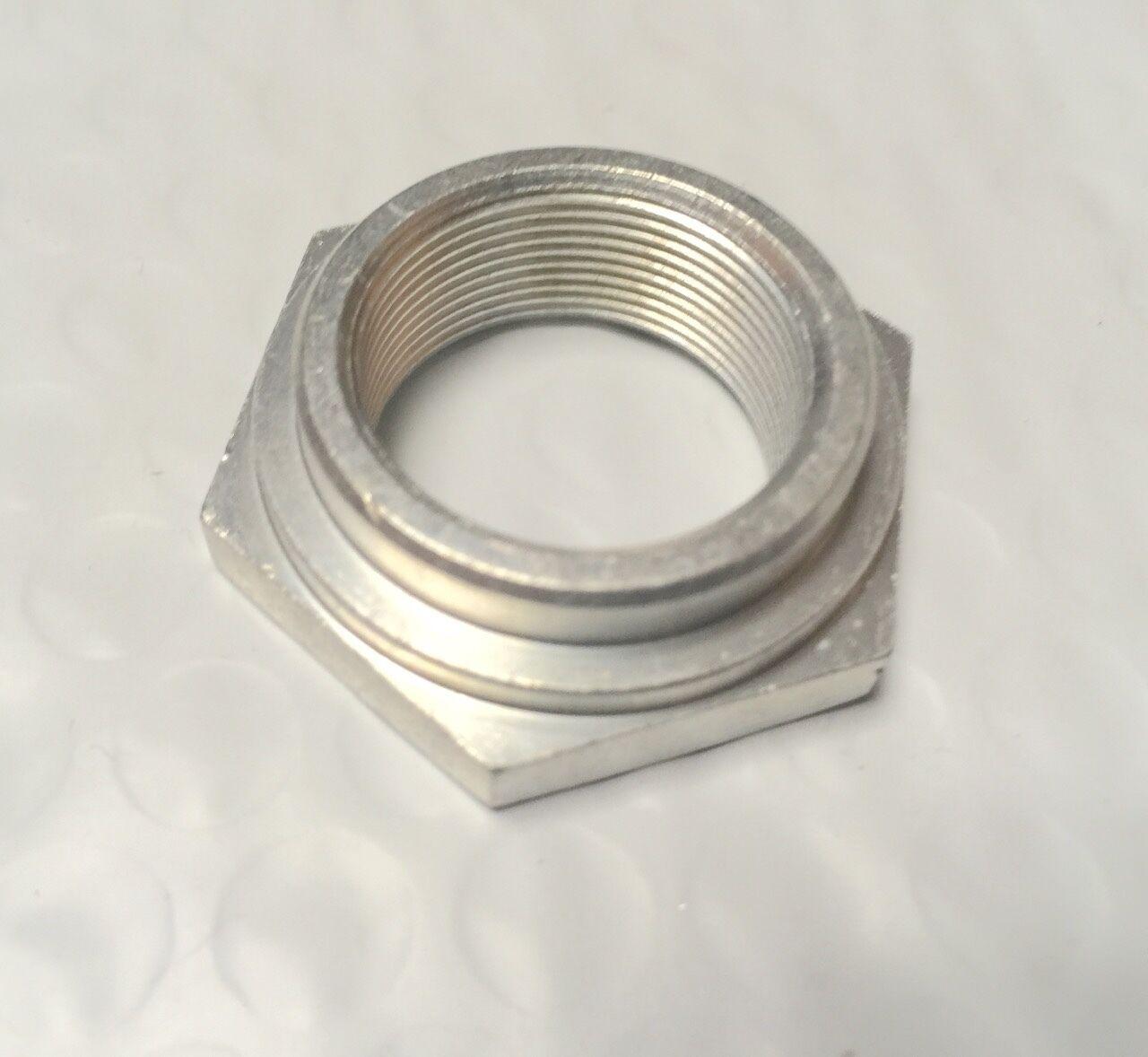 Harley Knucklehead UL Cad Plated Fork Stem Nut Restoration Quality 48561-36