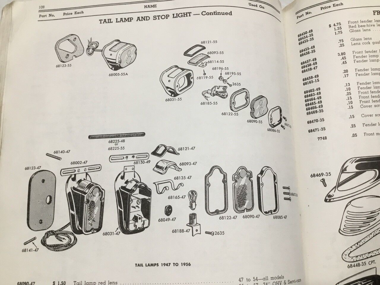 84 Shovelhead Wiring Diagram Tail Lamp Fuse Box 1971 On