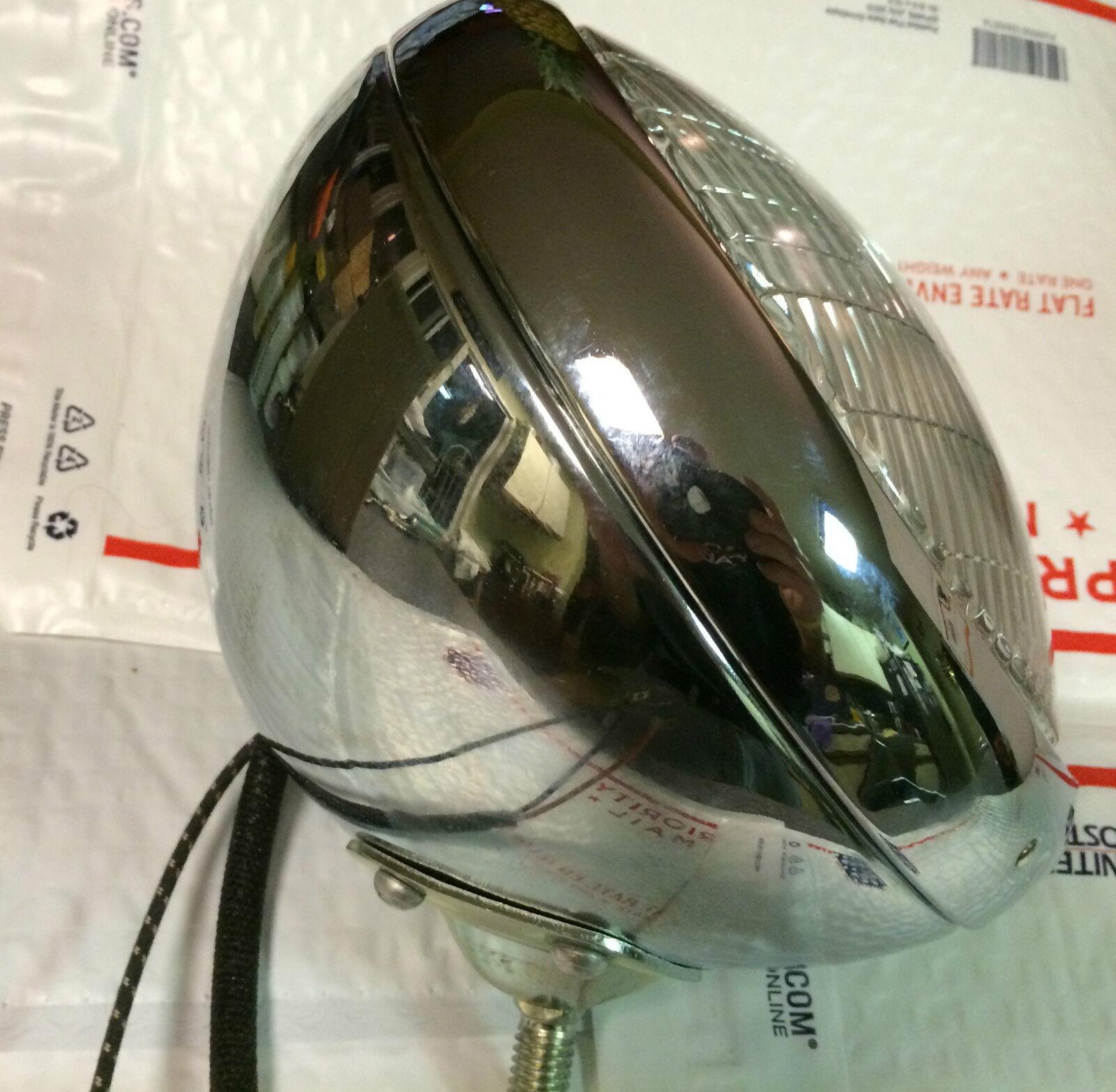 Harley Panhead Hydra-Glide Guide Cycle-Beam Headlamp 1949-59 ... on harley dash kit, harley stator wiring, harley banjo bolt, harley trunk latch, harley wiring kit, harley wiring tools, harley clutch rod, harley wiring color codes, harley clutch diaphragm spring, harley headlight adapter, harley tow bar, harley choke lever, harley motorcycle stereo amplifier, harley headlight harness, harley belly pan, harley crankcase, harley dash wiring, harley timing chain, harley wiring connectors, harley bluetooth interface,